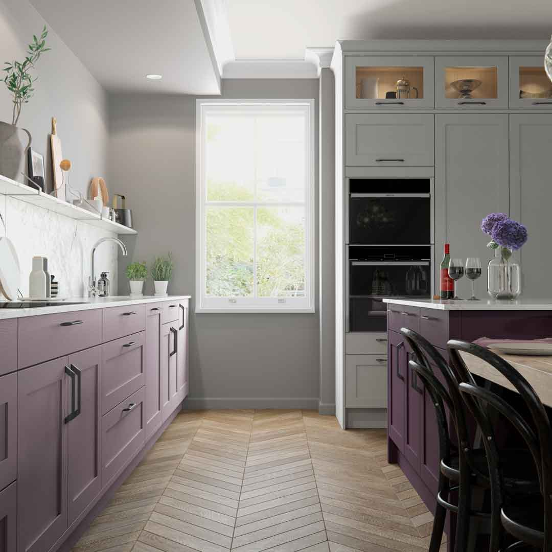 Wisteria Lilac Kitchen by Sigma 3 Kitchens