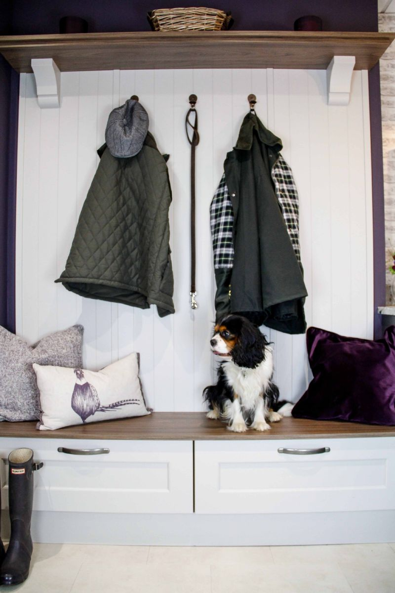 Sigma 3 Kitchens Pet and Dog Friendly Kitchen Design, Boot Room or Mud Room