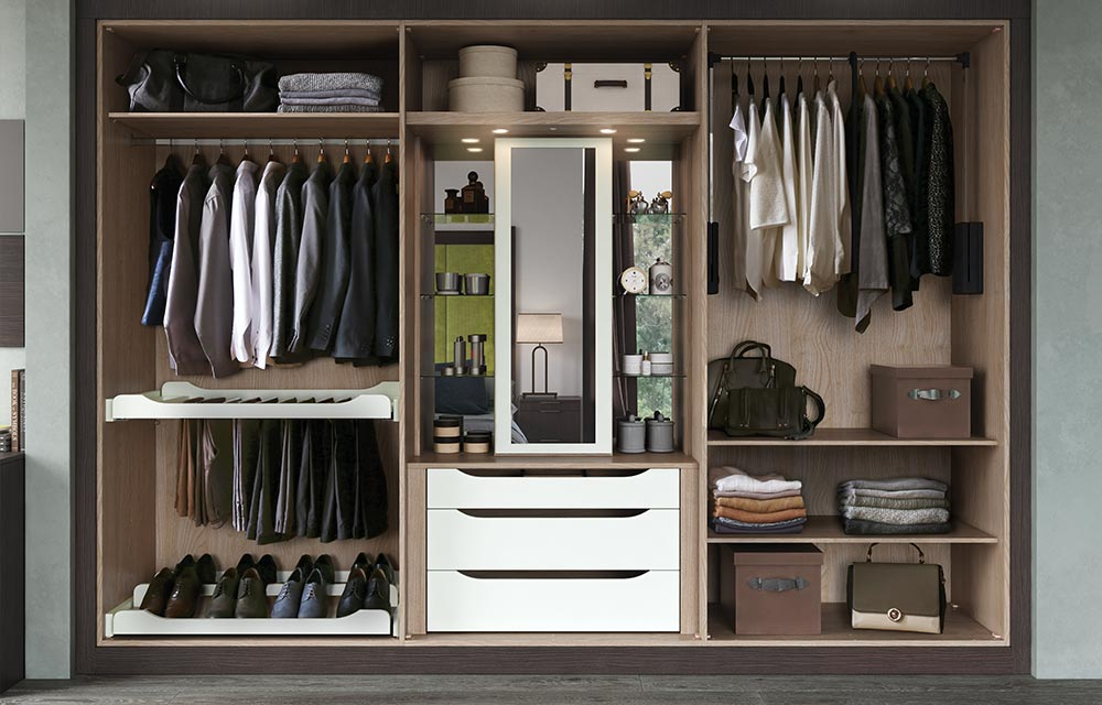 wardrobe interiors and fittings by sigma 3. Black Bedroom Furniture Sets. Home Design Ideas
