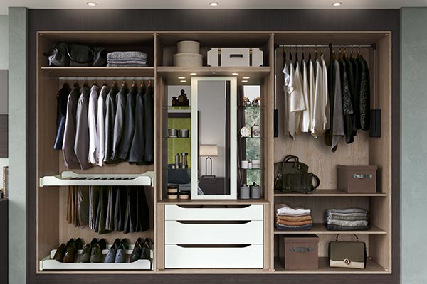 bedroom storage ideas and solutions by sigma 3. Black Bedroom Furniture Sets. Home Design Ideas