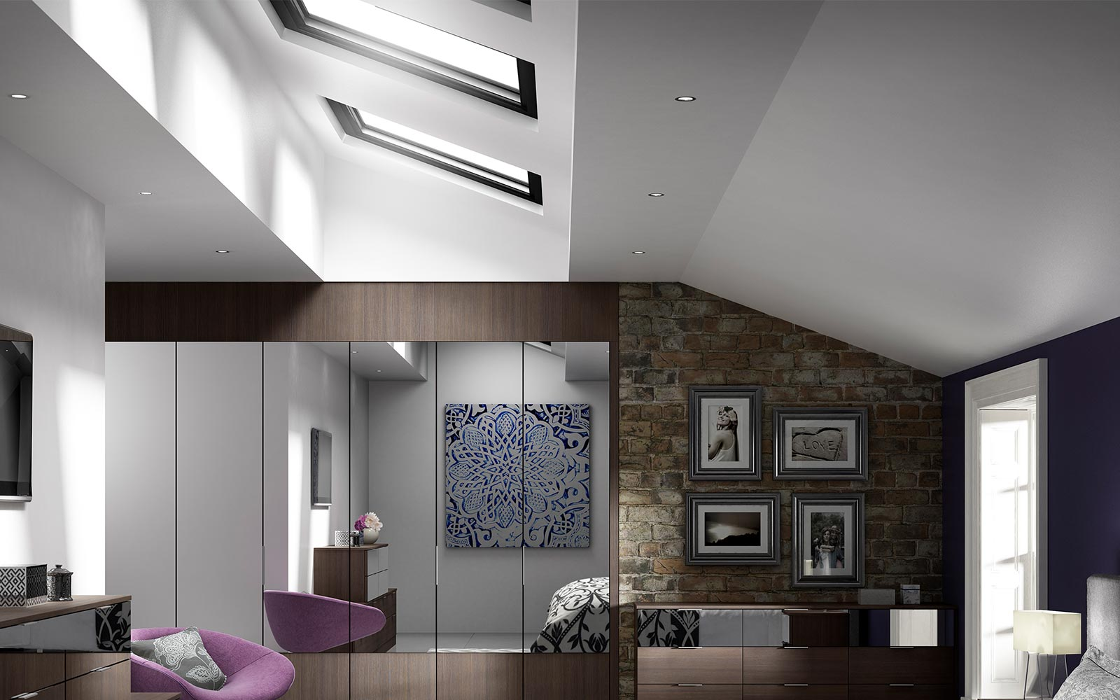 modern lighting bedroom. Emphasising Light In A Modern Bedroom Is Essential, Illuminating The Room Making It Appear More Spacious. Simplest Way To Do This Through Lighting R