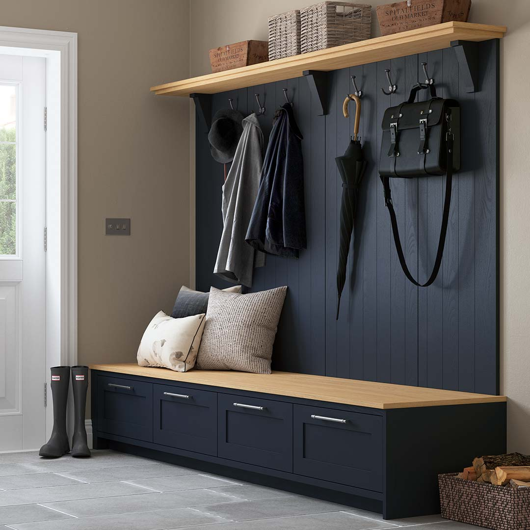 Country Style Boot Room by Sigma 3 Kitchens