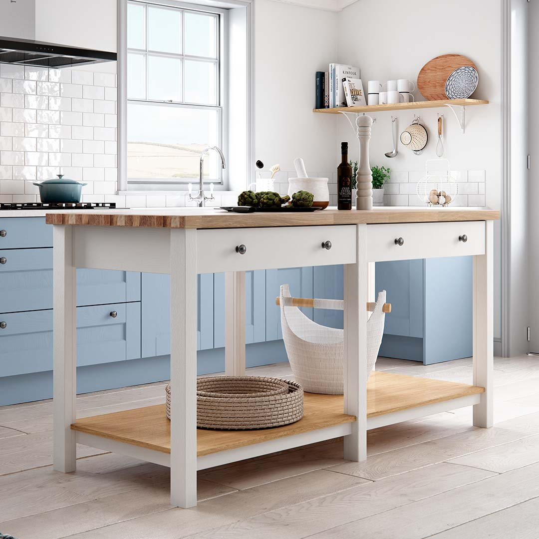 Prep Table - Freestanding Kitchens Islands by Sigma 3 Kitchens