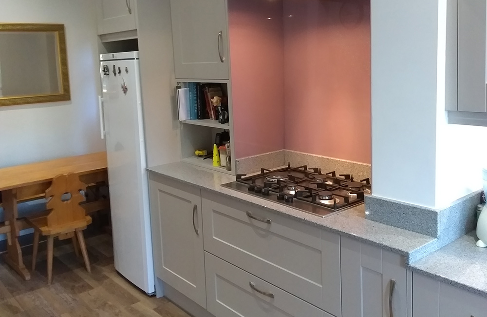 Kitchen Showrooms Cardiff Lumina Light Grey With Sonoma