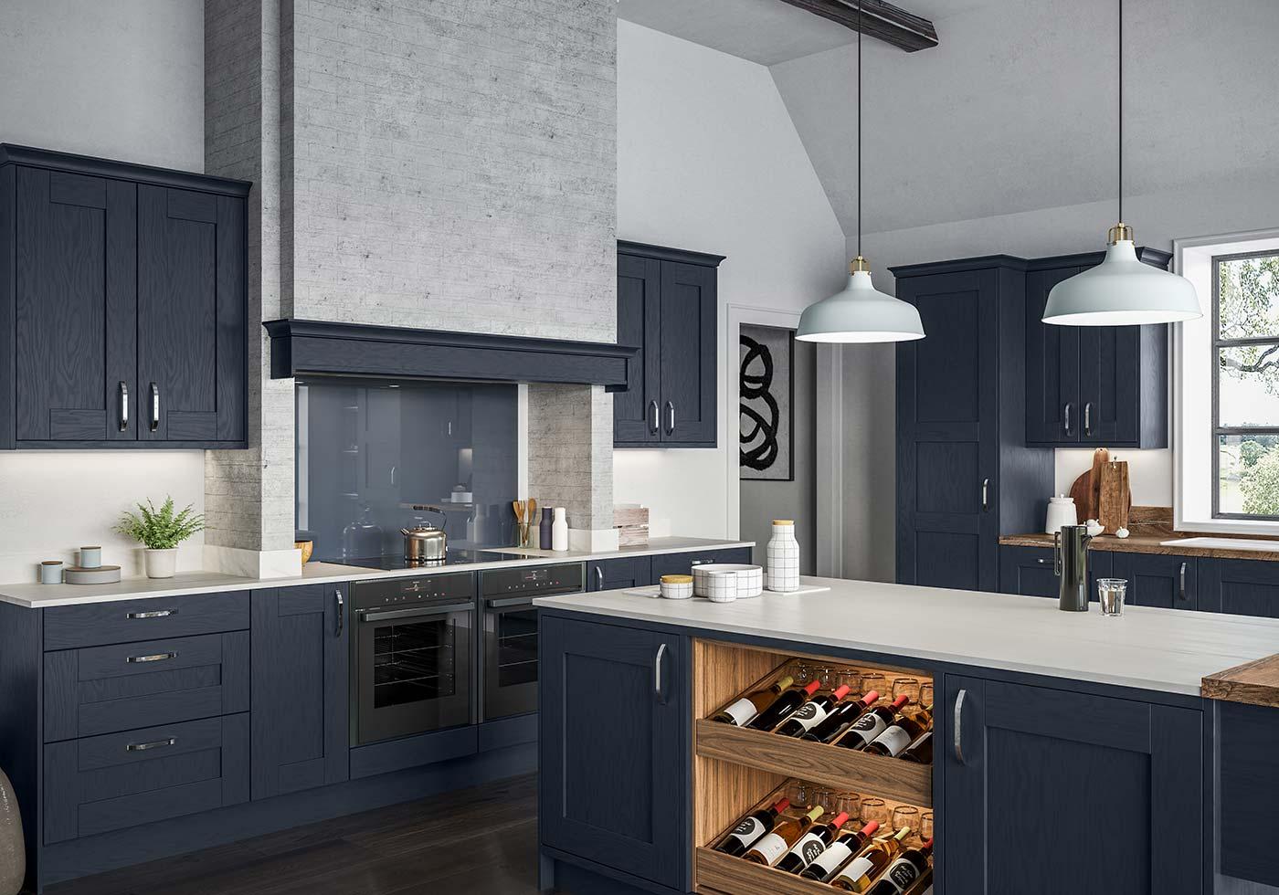 Blue Kitchens Kitchen Ideas By Sigma 3