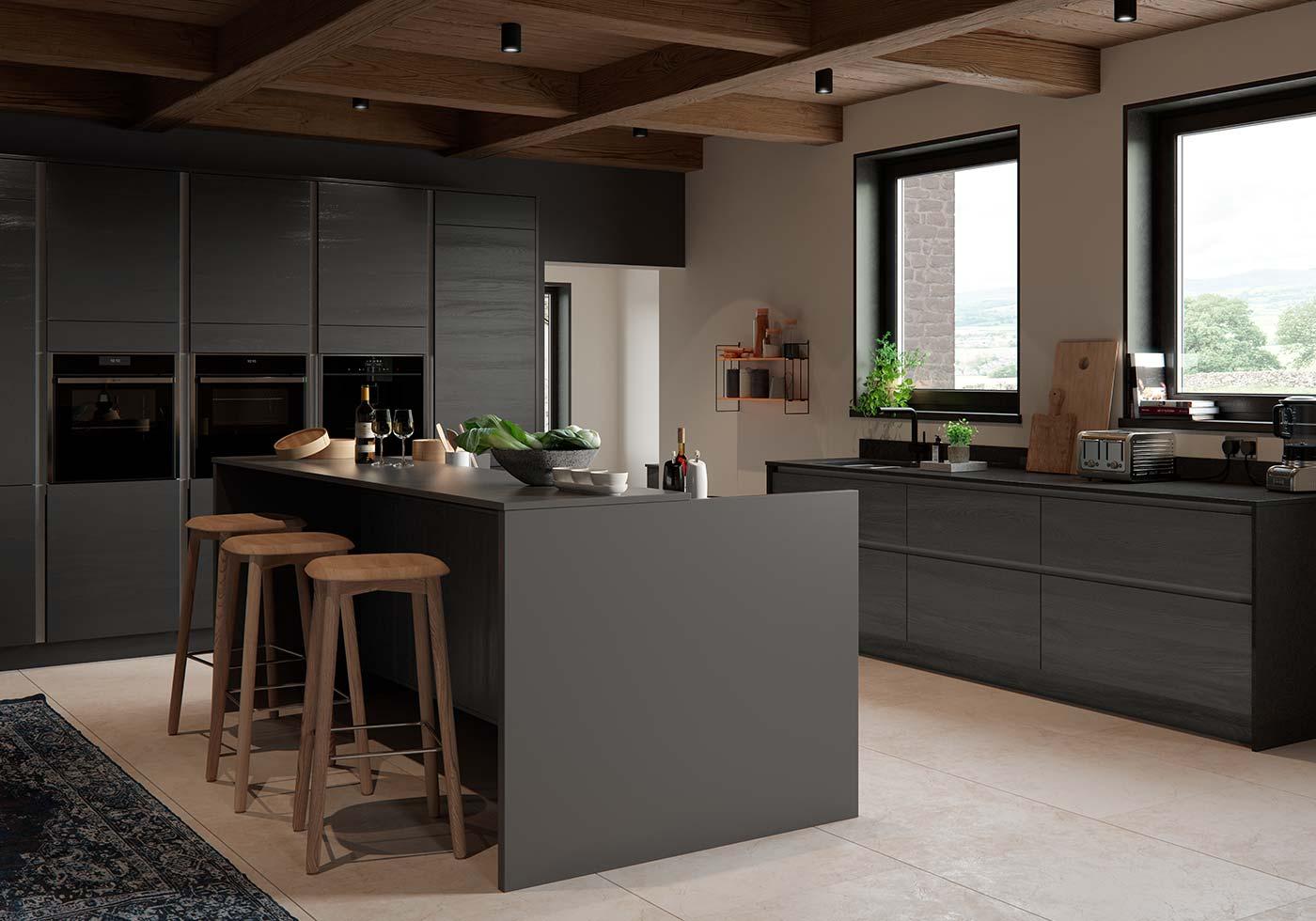 Grey Kitchens   Grey Kitchen Ideas   Sigma 9 Kitchens