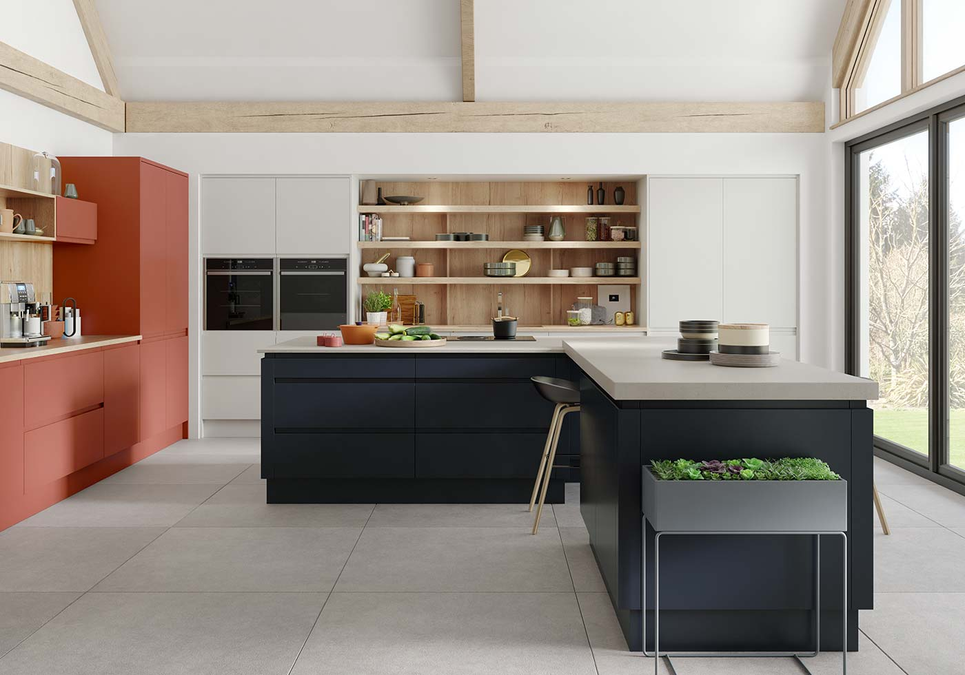 Roma modern J Pull kitchen