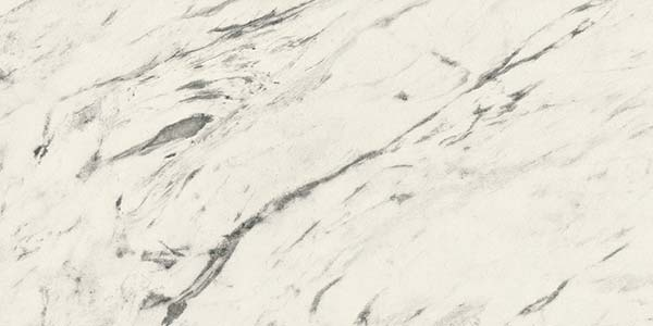 Carrara marble effect worktop