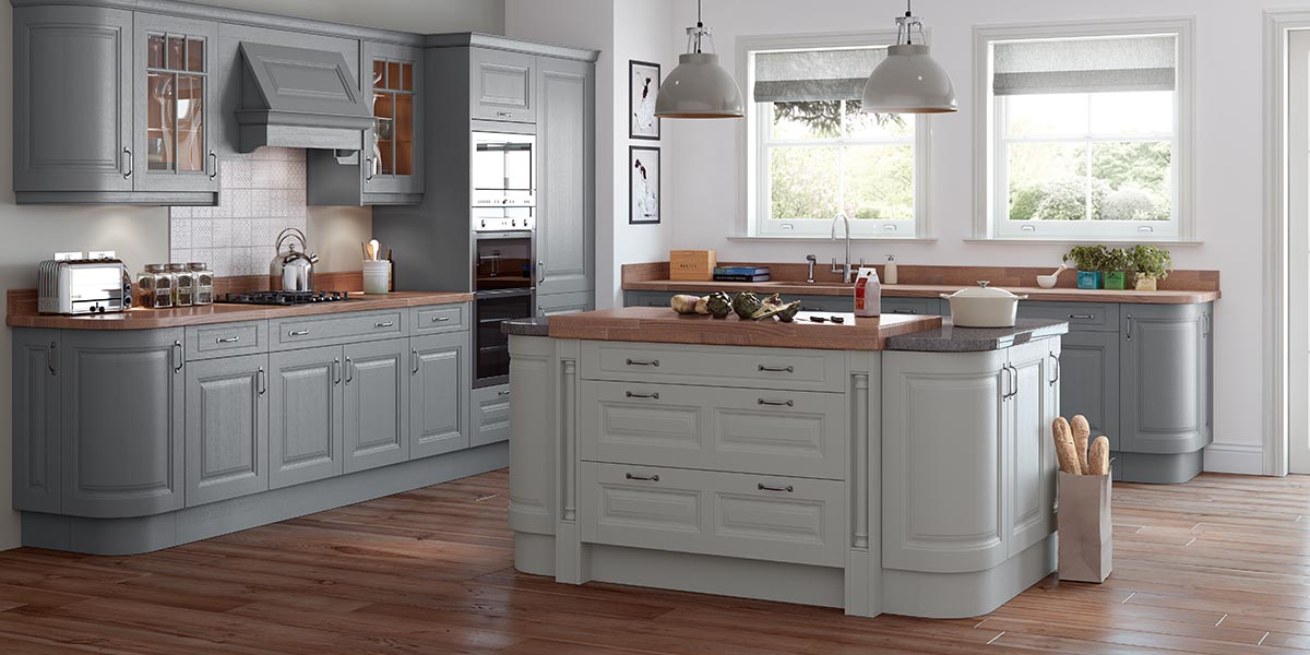 Heritage painted sage grey now kitchens - Carnegie Painted Classic Kitchen Sigma 3 Kitchens