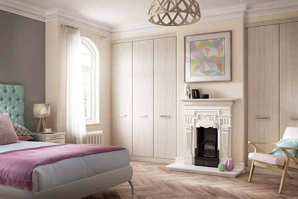 fitted wardrobes in bedroom alcoves 2