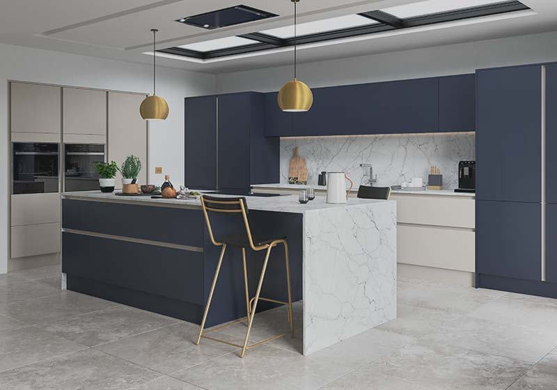 Handleless Kitchens by Sigma 3