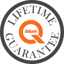 Blum Lifetime Guarantee on Sigma 3 Kitchens