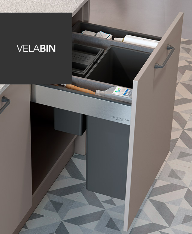 VelaBin integrated bins