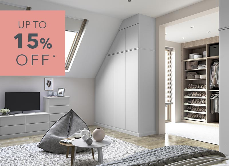 Fitted Wardrobes - Sale Now On