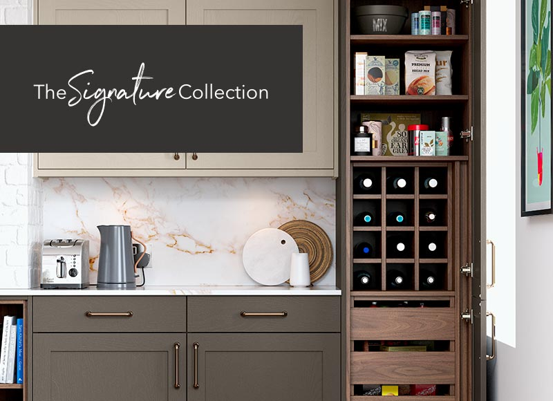 Kitchen storage - The Signature Collection