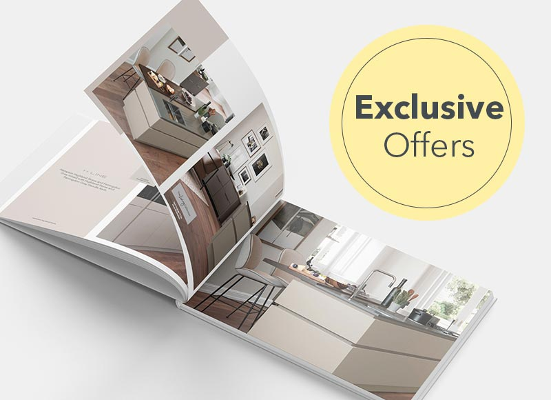 View our free kitchen and bedroom brochures