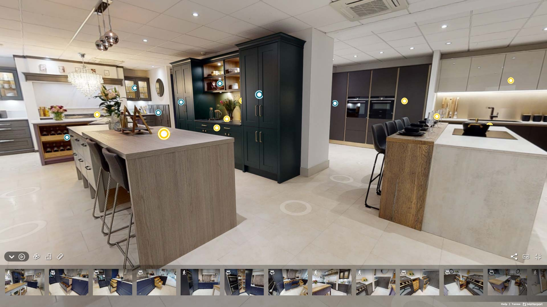 Sigma 3 Virtual Kitchen Showroom