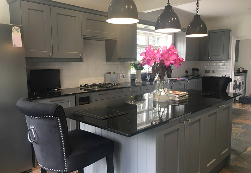 Ashbourne Dust Grey with Star Galaxy Granite