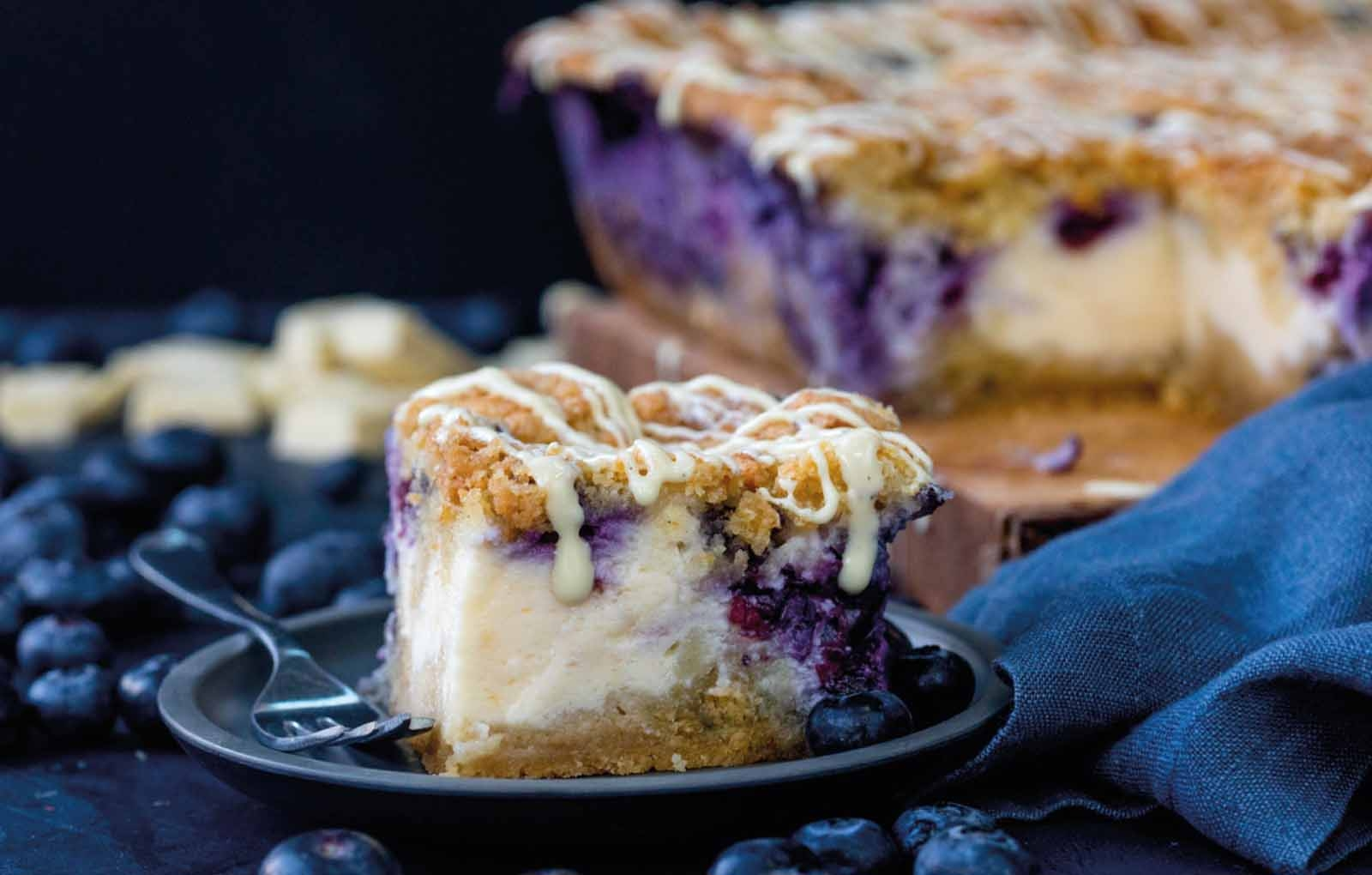 Recipe: Blueberry Cheesecake