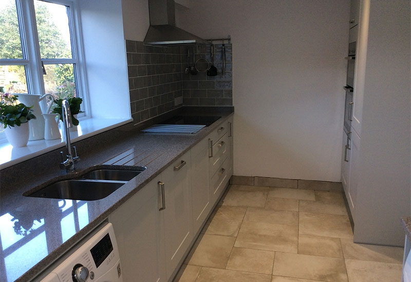 Malvern Light Grey with Gris Sylvestre Granite