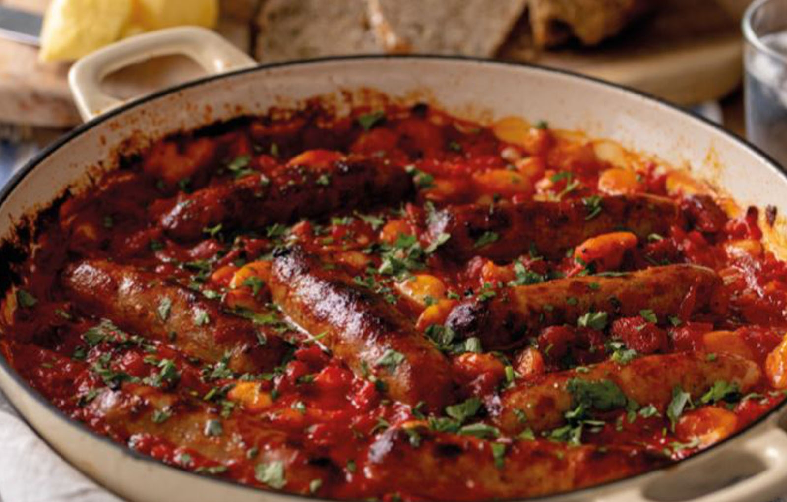 Recipe: Sausage, Tomato and Butterbean Hotpot